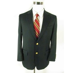 346 Brooks Brothers Men's Blazer 38S Gold Buttons